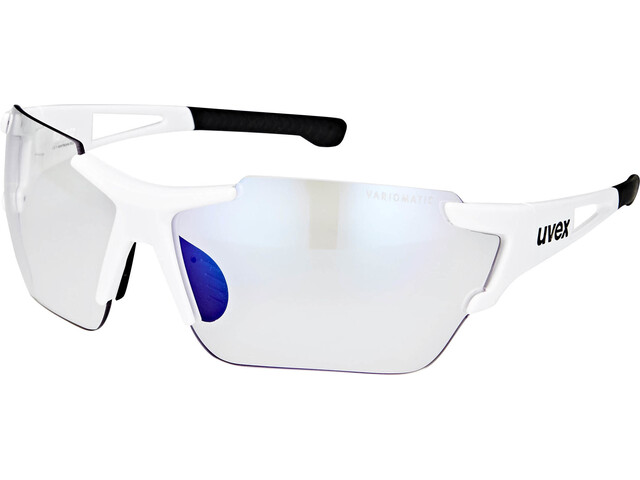 UVEX Sportstyle 803 Race Vario Glasses Small, white/blue